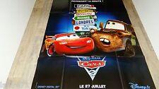 CARS  2 !  affiche cinema animation bd dessin pixar modele rare