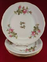 "ROYAL KENT COLLECTION RKT8 MOSS ROSE MADE IN POLAND 4 DINNER PLATE 10 1/4"" ROUND"