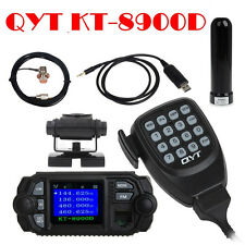 QYT KT-8900D Mobile Radio+High Gain Antenna+Mount+PL259 Cable+USB Program Cable