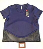 Under Armour Womens Size Large UA Show Stopper Top Blue New Nwt