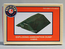 LIONEL 943 EXPLODING AMMUNITION DUMP o gauge train army military depot 6-82543