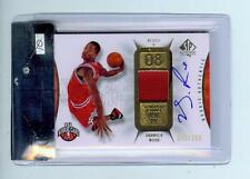 2008-09 SP AUTHENTIC #130 DERRICK ROSE AUTOGRAPH AUTO PATCH ROOKIE RC - BGS 9