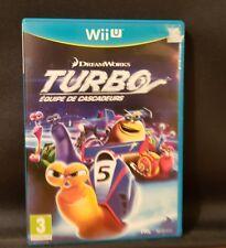 Turbo - Die Super-Stunt-Gang (Nintendo Wii U, 2013, DVD-Box)