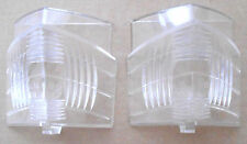 NOS 1960 RAMBLER AMBASSADOR PAIR OF BACK UP / REVERSE LENSES. AMBO HL. #26527.