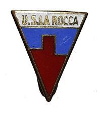 DISTINTIVO - U.S. LA ROCCA / Daiano (Trento) Smaltata / Prod. Anonimo