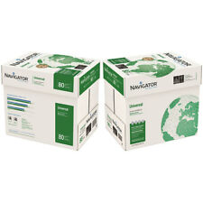 Navigator Universal A4 80gsm White 2 x Boxes of Paper - 5000 sheets