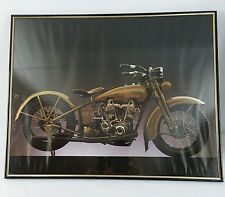 1928 1929 JDH Model Harley Davidson Framed Print Poster Wall Art Picture Photo