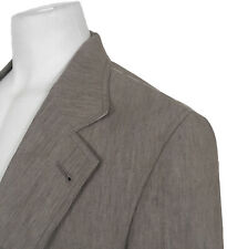 NEW Dolce & Gabbana Linen Sportcoat (Blazer)!  US 40 e 52  Taupe (Brown)  ITALY