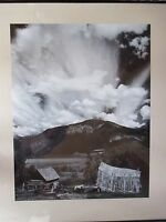 "1976 Original SIGNED BOB WERLING ""Thunderstorm Canada"" Photograph (Ansel Adams)"