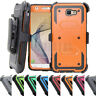 Hybrid Rugged Shockproof Holster Case Stand Cover For Samsung Galaxy J5 J7 Prime