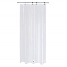 Small Stall Shower Curtain or Liner w Magnets Waterproof and Odorless 36 x 72in
