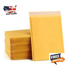 6x9 Kraft Paper Padded Bubble Mailers Envelopes Shipping Case Bag