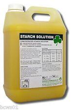 Starch Premium Laundry Liquid For Chefs Whites, Tablecloths & Linens.  2 x 5ltr