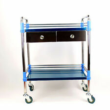 Durable Hospital/Clinic Medical Dental Cart Trolley Two Drawer With 2 Layers SFW