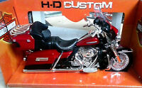MAISTO 1:12 MOTO HARLEY DAVIDSON 2013 FLHTK ELECTRA GLIDE ULTRA LIMITED    32320