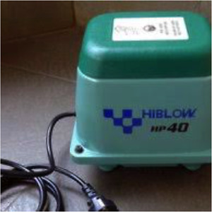 New HIBLOW Small Capacity Air pumps for Fish Breeding, Ponds, Tanks and Aquarium