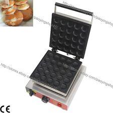 Commercial Nonstick Electric Dutch Poffertjes Mini Pancake Maker Machine Baker