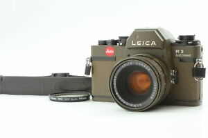 [Exc+5] Leica R3 Safari + Summicron R 50mm f2 R Only Green Olive From JAPAN