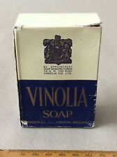Vintage Boxed Unused * Vinolia* Soap. By Appointment To H.M. King ( George Vi.)