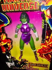 10 Inch She-Hulk Marvel Universe Comics Deluxe Figure Toy Biz 1997 She Hulk