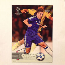 EDEN HAZARD #162 Chelsea FC #ed/10 Made 2016 Topps Champions UEFA 5X7 GOLD