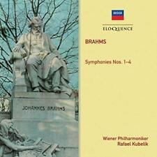 Rafael Kubelik - Brahms: Symphonies 1-4 (NEW 2CD)