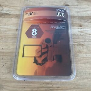 TDK DVC MiniDV Tapes, 60 Minute 5 Pack Brand New
