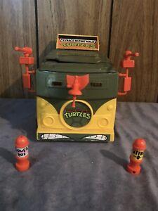 Vintage Teenage Mutant Ninja Turtles TMNT Party Wagon Van 1989 Complete