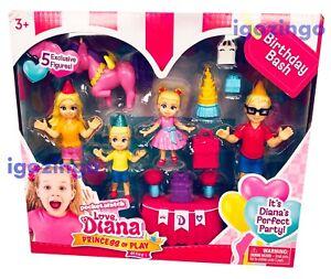 Love, Diana Princess of Play Series 1 Birthday Bash Playset - BRAND NEW!!!