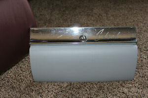 1959 Ford Edsel Glove Box Door with Bezel trim and latch (no Key)