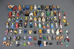 Massive LEGO Minifigure lot - Star Wars, Batman, Friends, Marvel, Chima, Ninjago
