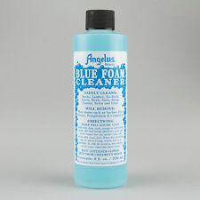 Angelus Blue Foam Cleaner 8oz Bottle Suede, Leather, Nubuck, Mesh & More Shoes
