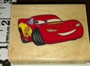 Pixar, Disney, lightning McQueen, cars, EK,135,rubber, wood