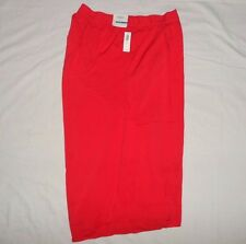 00d0aa3f914 Women Short Comfy Orange Simon 2 Front Pockets Pleated Size XL by Old Navy  100