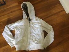 AE American Eagle Winter Jacket Coat White Women's Size L