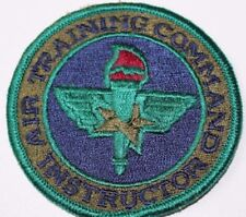Air Training Command Instructor Patch embroidered sewon finished edge each P5062
