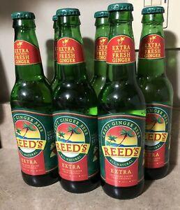 Reed's Ginger Beer Ginger Beer Lot of 7 Sealed New 12oz Each