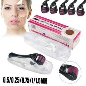 0.2-3mm 540 Titanium Microneedle Derma Roller Dermaroller Micro Needle Skin..