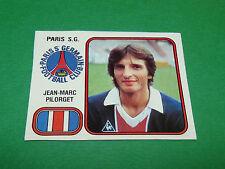 J-M. PILORGET PARIS SAINT-GERMAIN PSG RECUPERATION PANINI FOOTBALL 82 1981-1982