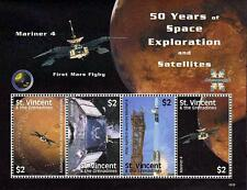 St.Vincent 2008 Space/ Mariner M/S Sc#3645 Mnh Cv$6.50 Astronomy