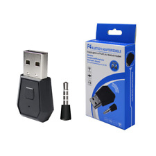 4.0 USB Wireless Mini Bluetooth Dongle Receiver Adapter for PS4 Sound Headset UK