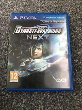 Dynasty Warriors Next PlayStation PS Vita JEU RARE