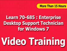 70-685: Enterprise Desktop Support Technician for Windows 7 Video Training CBT