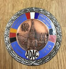 Alte ADAC Plakette 1.  Gauwertungsfahrt Heilbronn 1950