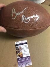 Autographed Burt Reynolds Official NFL Leather Wilson Football JSA Certified