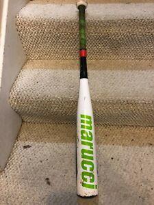 Marucci Baseball Bat 28/18 -10 Hex Alloy 2 Model MSBHA2X10 AZ105 Green White