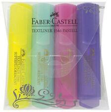 Surligneurs Faber Castell Textliner 1546 pastel- étui de 4 pièces