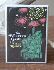 """The Westing Game - 2"""" X 3"""" Fridge / Locker Magnet. Ellen Raskin"""