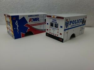 AMBULANCE BEDS BOXES truck bed parts lot custom builds 1/64 Greenlight JUNK YARD
