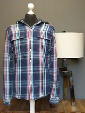 POLO BY RALPH LAUREN Herrenhemd Kapuze Gr. L/XL Baumwolle formal shirt Nr. 635
